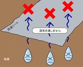 防湿シートの基本