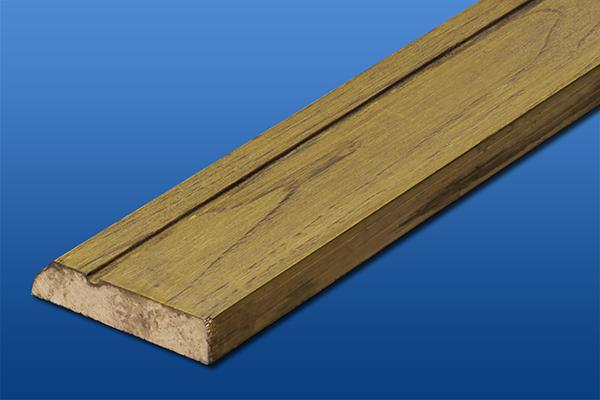 10本セットアウトレット無垢巾木の栗(厚14mm×高さ66mm×長さ1818mm)写真